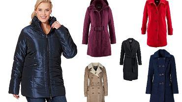 Ciepłe płaszcze dla noszących rozmiar 42+