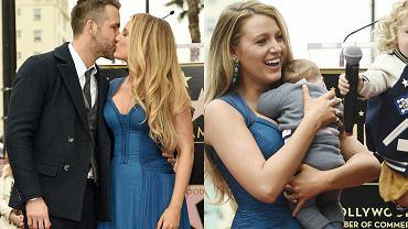Blake Lively i Ryan Reynolds z córkami