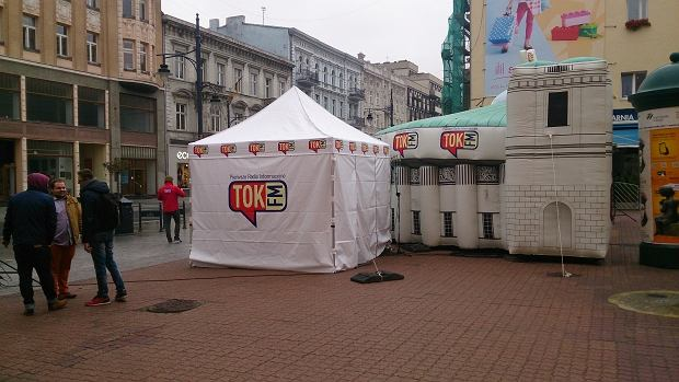 Sejm radia TOK FM w Łodzi