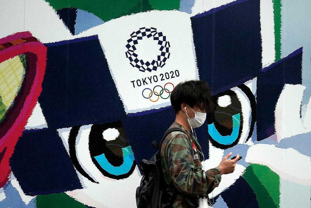 Reklama igrzysk w Tokio