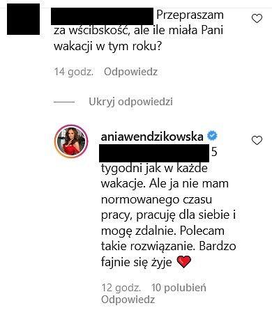Anna Wendzikowska zdradziła, ile w tym roku spędziła czasu na urlopie