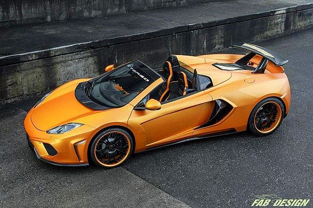McLaren MP4-12C Spider Terso
