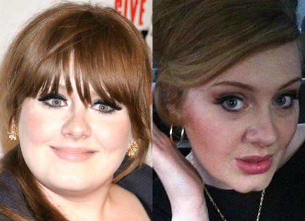 Adele w 2008 i 2012 roku