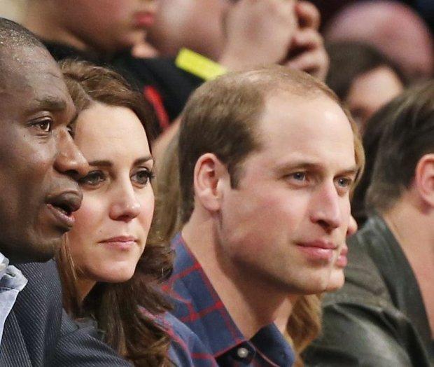Dikembe Mutombo, księżna Middleton, książę William