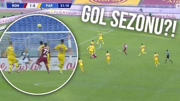 Kapitalny gol Henricha Mchitarjana w meczu Roma - Parma