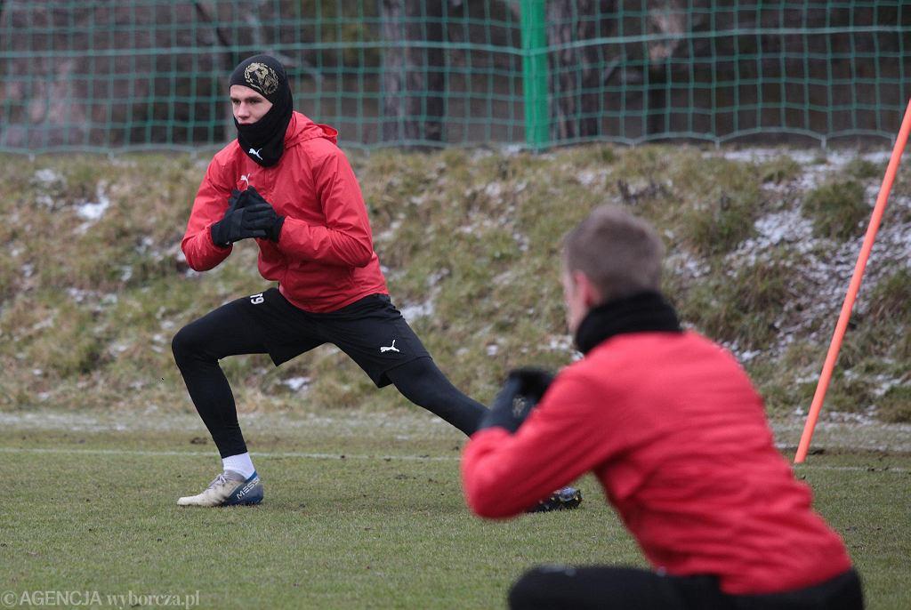 Oskar Sewerzyński w środę znów trenował z pierwszą drużyną Korony