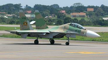 Ugandyjskie lotnictwo posiada przyzwoity rosyjski sprzęt