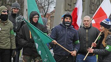 Poznań miastem narodowym - manifestacja ONR