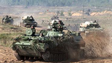 Rosyjskie czołgi zmierzają na Białoruś. Mają uderzyć 17 września. Na poligonach Białorusi i Rosji rozpoczęły się manewry 'Zapad 2017' ('Zachód 2017')