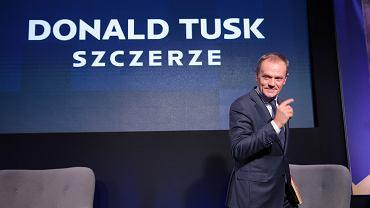 /Promocja ksiazki Donalda Tuska pt.  Szczerze '