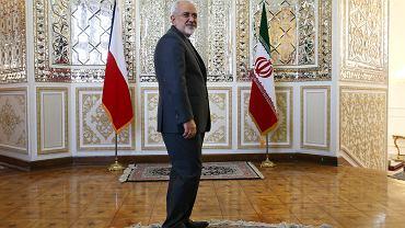 Minister spraw zagranicznych Iranu Muhammad Dżawad Zarif