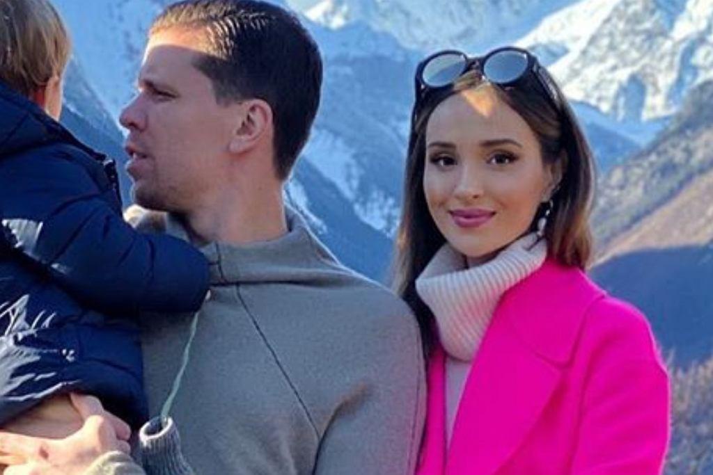 Marina z mężem i synem