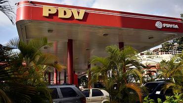 Stacja paliw wenezuelskiego koncernu PDVSA
