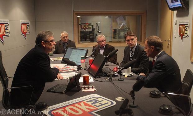 Donald Tusk był gościem Poranka Radia TOK FM