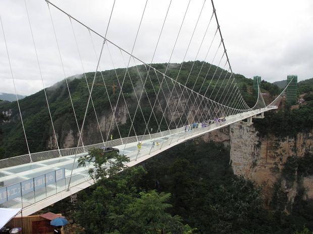Szklany Most w Zhangjiajie