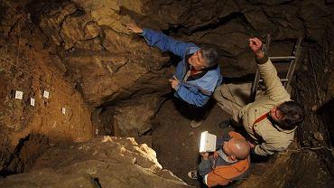 Prace w Jaskini Denisowa