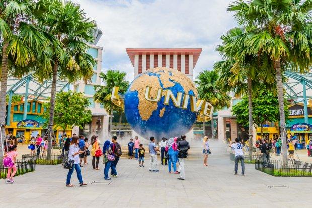 Universal park na Santosie to skrzyżowanie Disneylandu z gigantycznym shopping mallem.
