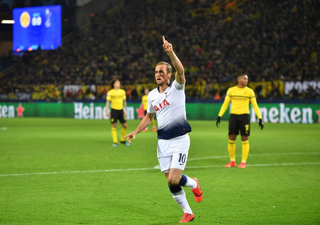 Harry Kane najskuteczniejszym strzelcem Tottenhamu w LM