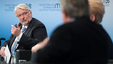 Witold Waszczykowski na Konferencji Bezpieczeństwa w Monachium