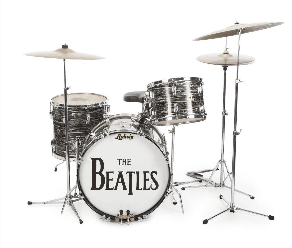 Perkusja należąca do Ringo Starra sprzedana na aukcji