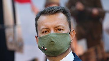 Minister obrony narodowej Mariusz Błaszczak.