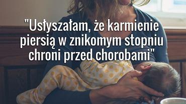 Z raportu 'Czy Polska jest krajem przyjaznym karmiącej matce i jej dziecku'