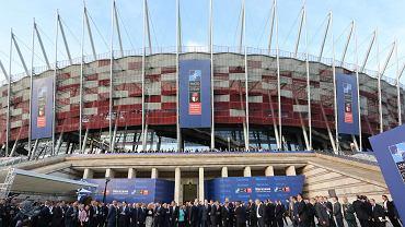 Na deputowanych na stadionie czekała także wystawa w Polsce w NATO