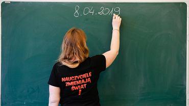 Strajk nauczycieli ma się odbyć 8 kwietnia.