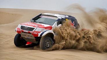 Adam Małysz rewelacją Dakaru
