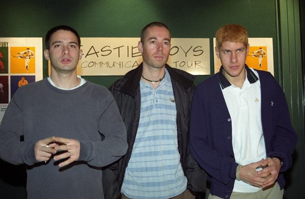 Beastie Boys - Adam 'King Ad - Rock' Horovitz, Adam 'MCA' Yauch i Michael 'Mike D' Diamond w 1995 roku