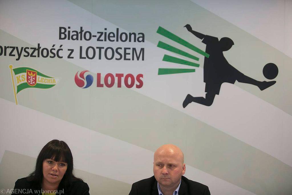 Jowita Twardowska i Tomasz Bocheński