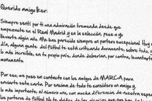 MŚ 2014. Chilavert napisał list do Casillasa: Wciąż jesteś najlepszy na świecie