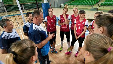 Pierwszy trening siatkarek KS Pałac Bydgoszcz