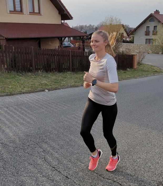 Postępy biegaczy w ramach akcji Huawei - Watch My Way