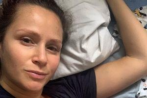 """Monika Mrozowska pozuje w bieliźnie zaledwie cztery tygodnie po porodzie. """"Ciało nie boli jak po wypadku"""""""