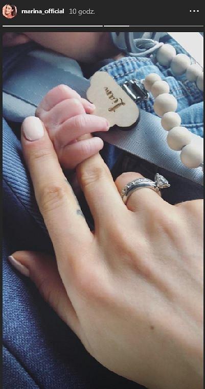 Marina Łuczenko-Szczęsna pochwaliła się kolejnym zdjęciem synka Liama