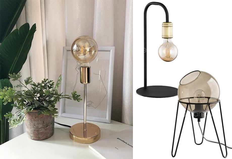 Lampy stołowe w industrialnym stylu