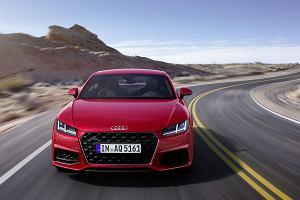 Nowe Audi TT - Audi odświeża małe coupe