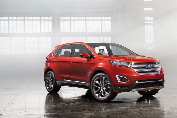 Salon Los Angeles 2013 | Nowy Ford Edge
