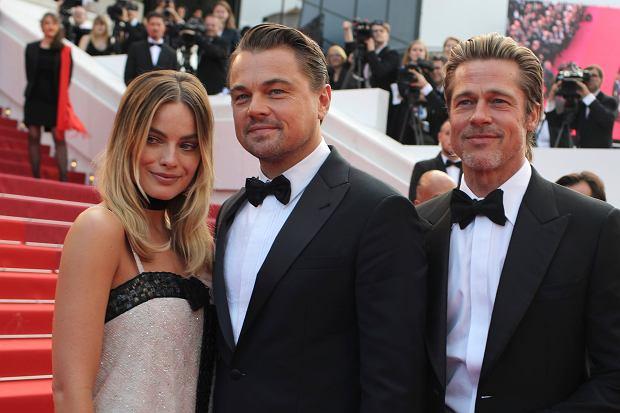Margot Robbie, Leonardo DiCaprio i Brad Pitt