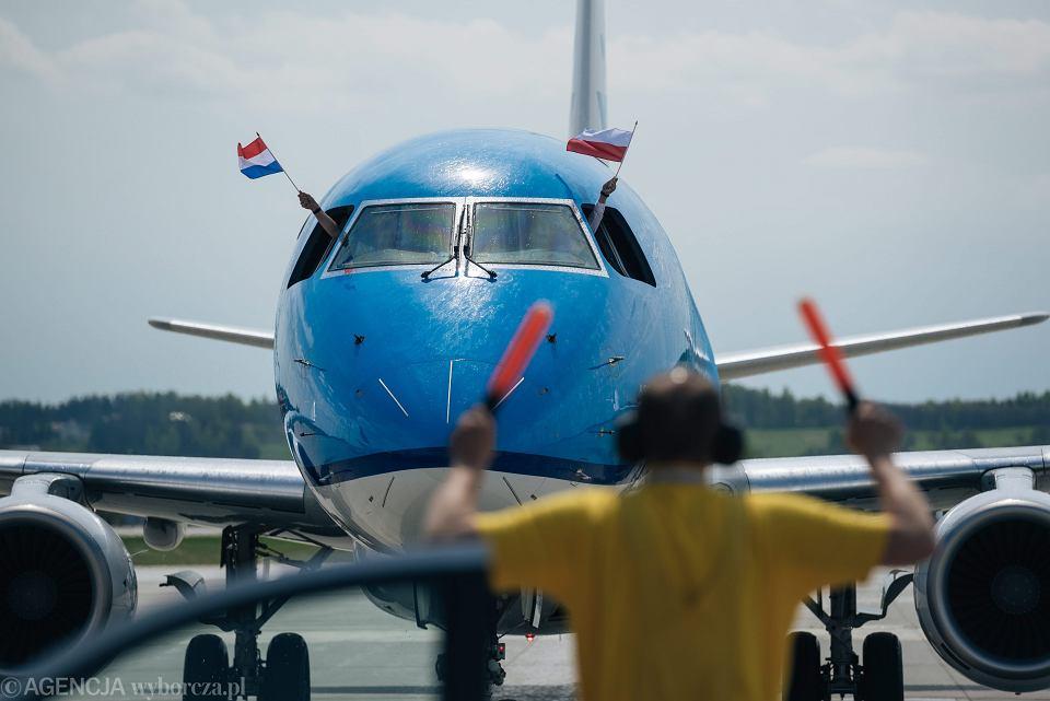 Samolot linii lotniczych KLM