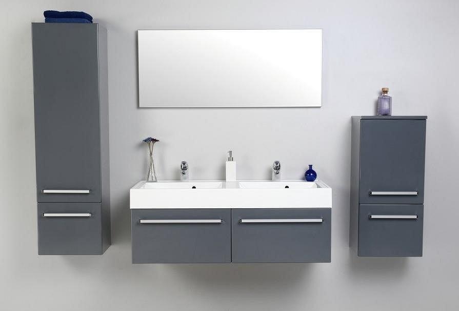 Umywalka z szafką w stylu minimalistycznym - Antado