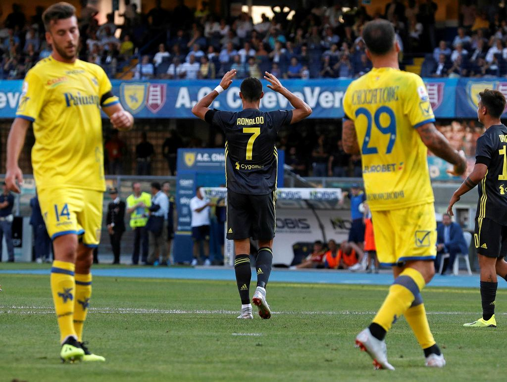Debiut Cristiano Ronaldo w Juventusie Turyn