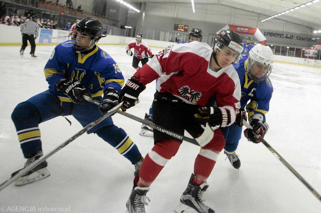 Mecz reprezentacji Polski do lat 18 z Węgrami w hokeju na lodzie
