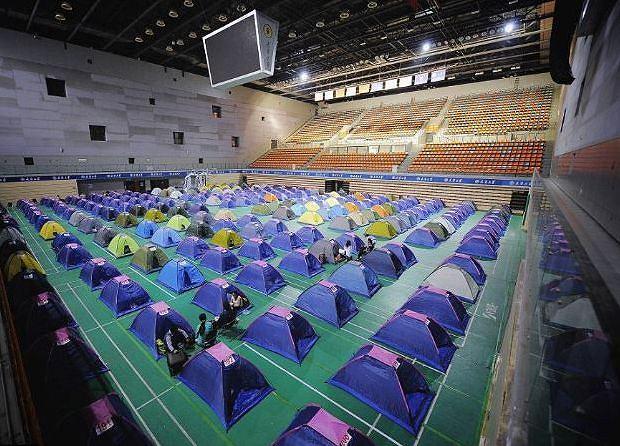 Chińskie namioty miłości