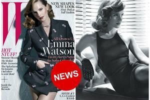 """Emma Watson jako elegancka dama w stylu retro dla """"W Magazine"""": """"To cud, że jako dziecko miałam jakichkolwiek przyjaciół!"""""""