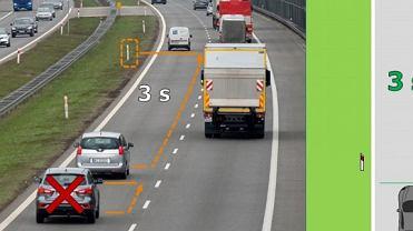 Zasada trzech sekund, czyli jak obliczyć bezpieczną odległość między pojazdami
