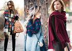 Jak modnie nosić szal jesienią