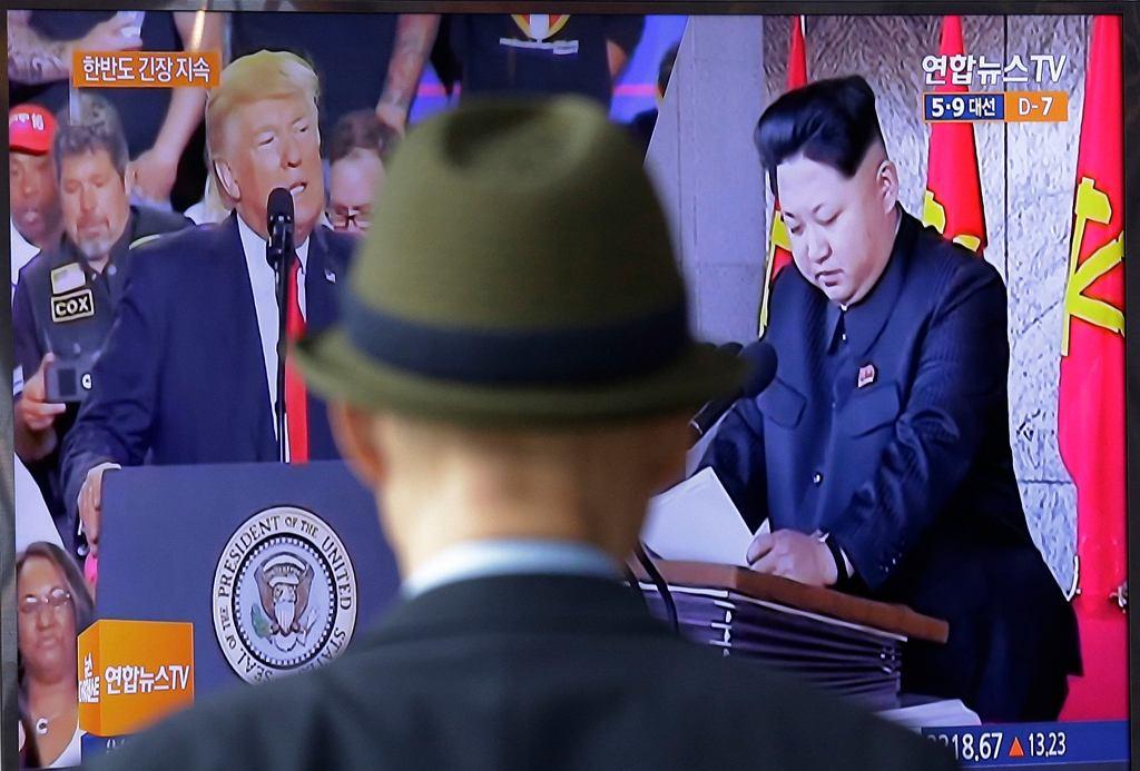 Donald Trump, Kim Dzong Un