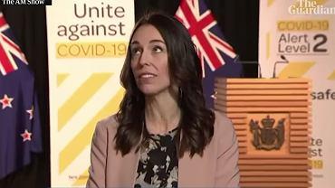 Trzęsienie ziemi podczas wywiadu premierki Nowej Zelandii